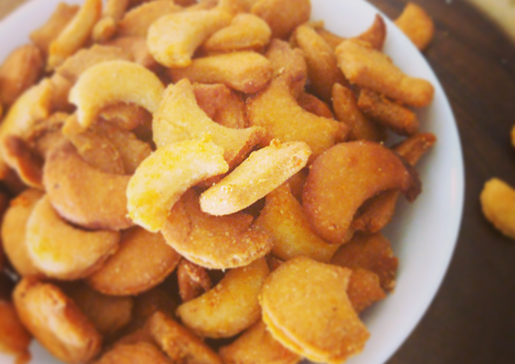 Steps to Make Super Quick Homemade Homemade Salty Cashew