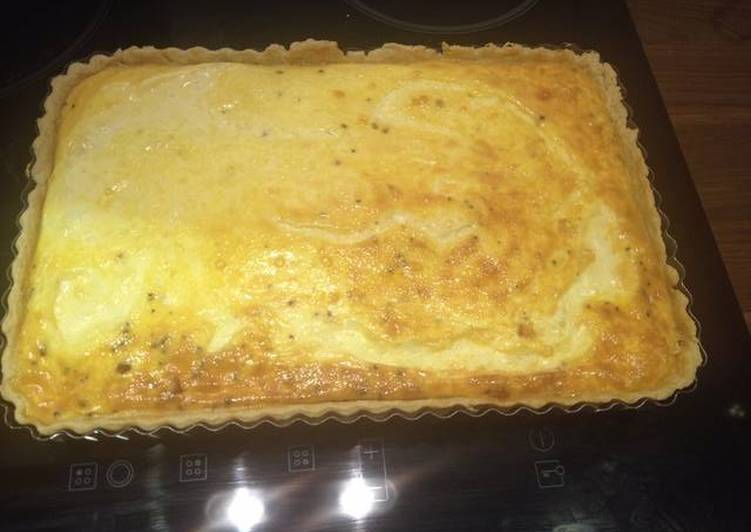 Recipe of Quick Baked Quiche lorraine
