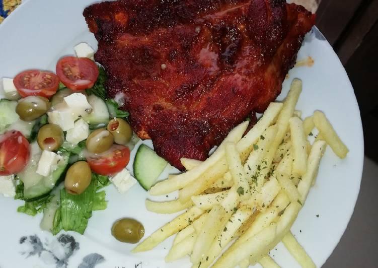 Recipe of Award-winning Pork Ribs