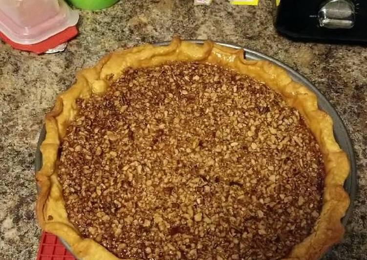 Recipe of Homemade Pecan Pie