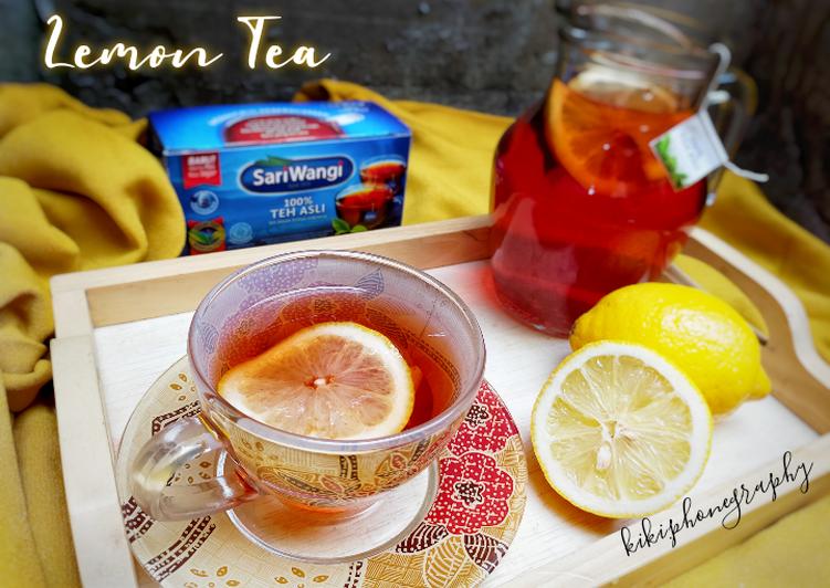 Bagaimana Membuat Lemon Tea Hangat Anti Gagal Aneka Resep Minuman Kekinian