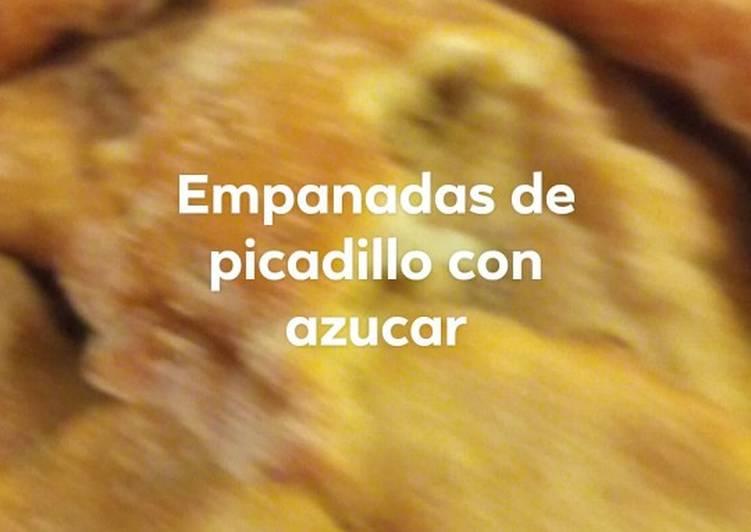 Empanadas de picadillo con canela y azúcar al estilo rosalía