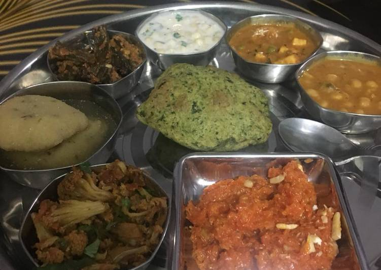 Recipe of Ultimate Lunch thali