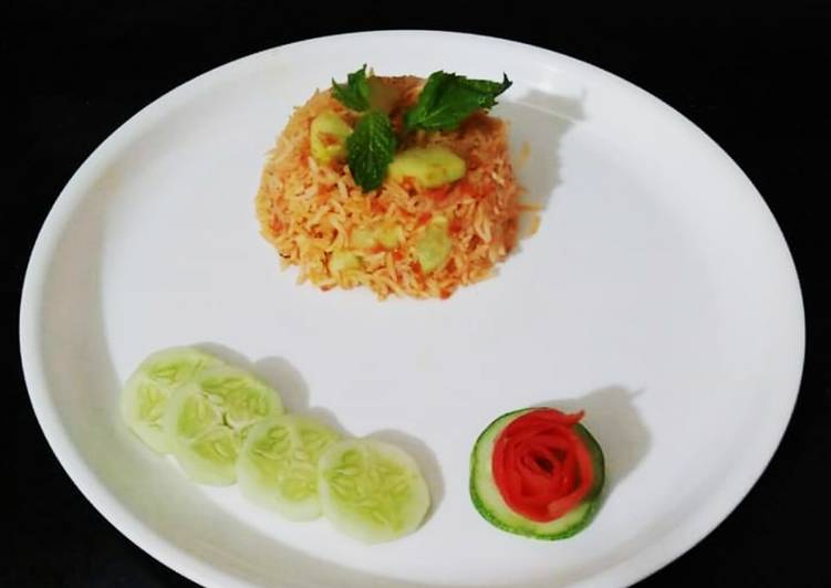 Steps to Make Perfect Cucumber rice