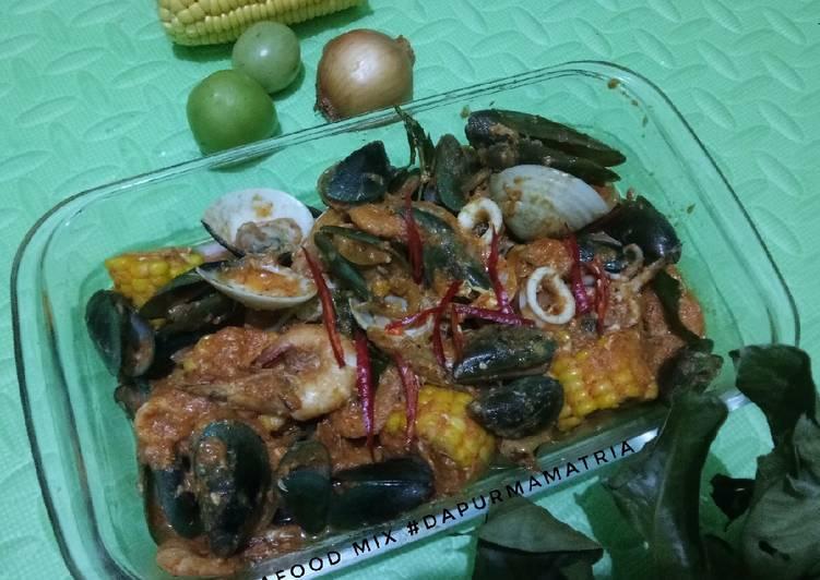 Seafood mix saos padang