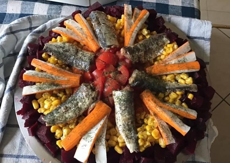 Salade d été «marine»