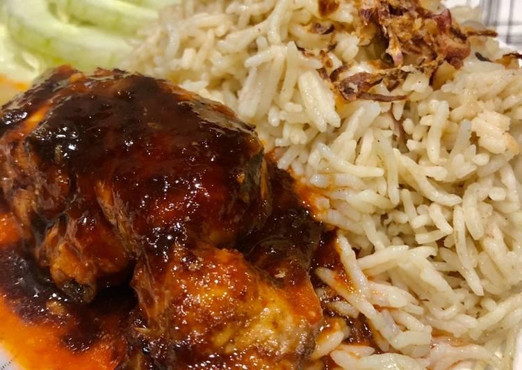 Resepi Nasi Ayam Butter Special + Ayam Goreng Madu - velavinkabakery.com