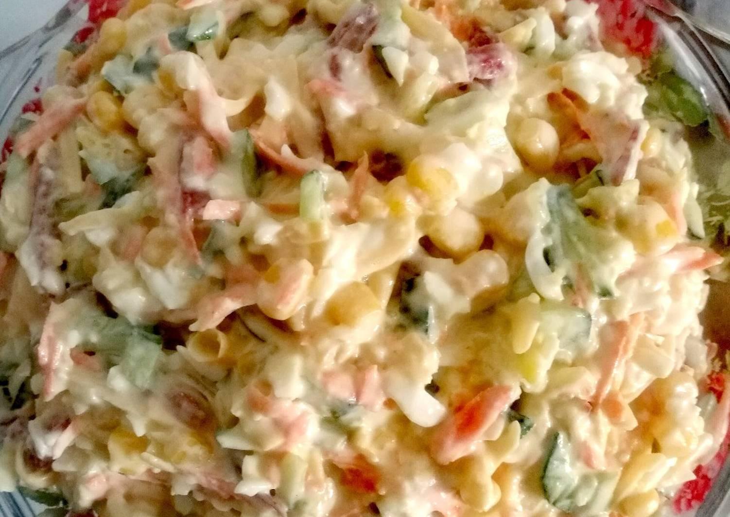 салат с копченым сыром пошаговый фото рецепт спи