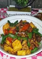 Resep Dan Cara Memasak Tumis Tahu, Kacang Panjang dan Ati Ampela Ayam Mudah dan cepat