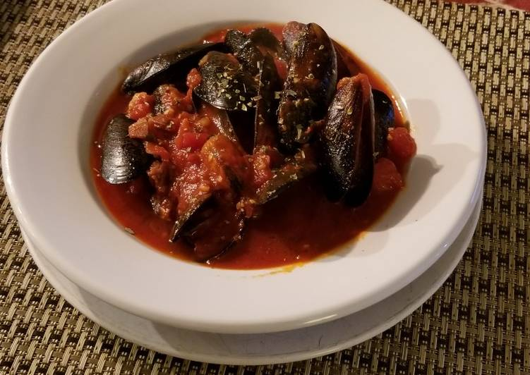 Tomato Mussel Stew