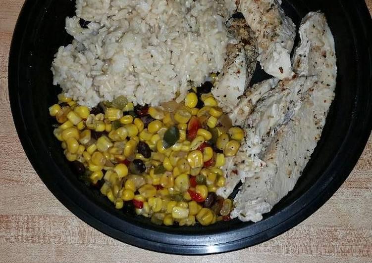 Easiest Way to Make Favorite Roasted Garlic & Herb Chicken Breasts in A Pressure Cooker