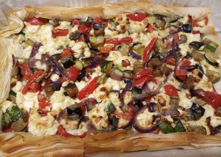 How to Prepare Favorite Feta and veg filo pie