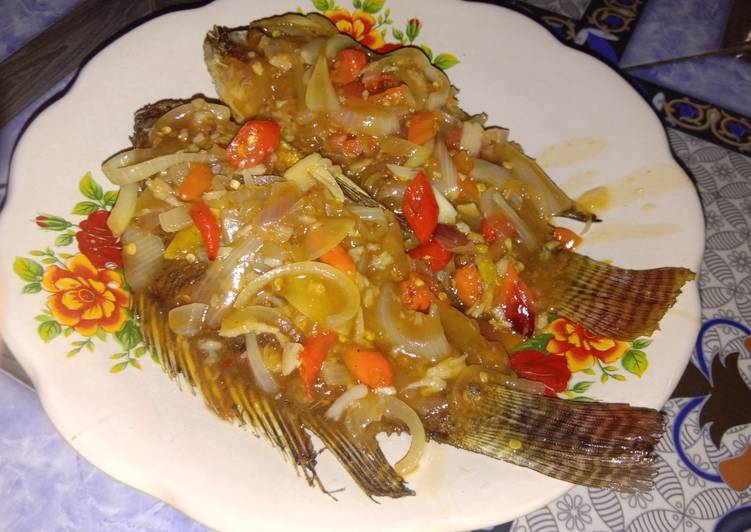 Resep Mujair Saus Tiram Homemade Oleh Arlina Dhama Yanti Cookpad