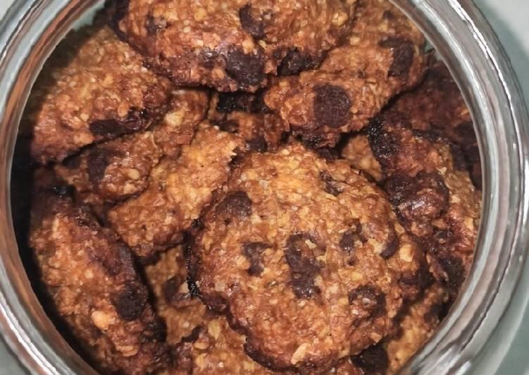 Langkah Mudah untuk Menyiapkan Oat Cookies Anti Gagal