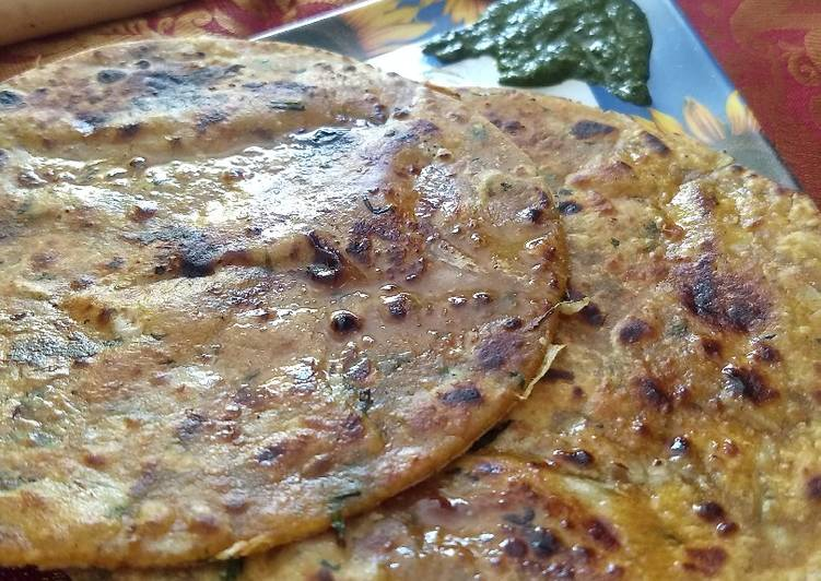 Information on How to Improve Your Mood with Food Mooli paratha