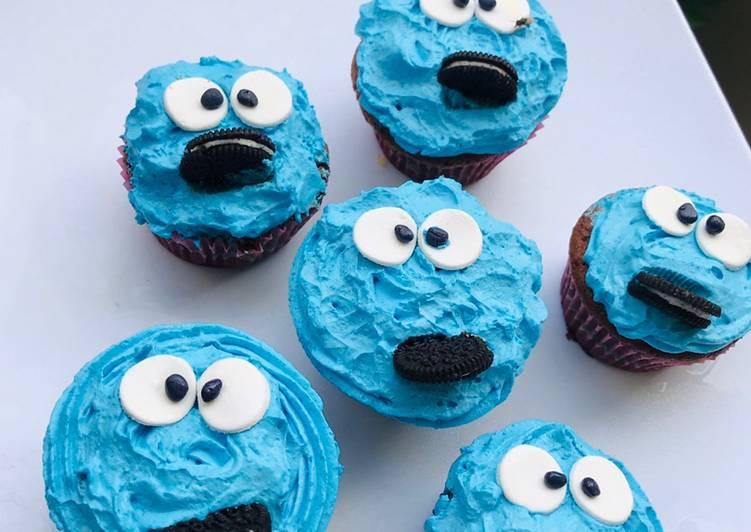 Simple Way to Make Award-winning Funny face Cupcakes
