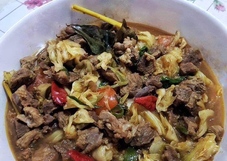 Tongseng Kambing (tanpa santan) - cookandrecipe.com