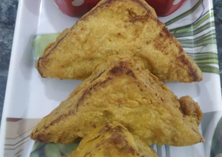 Step-by-Step Guide to Prepare Super Quick Homemade Bread Pakoda