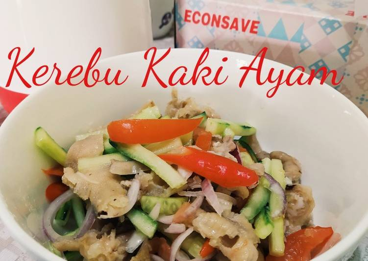 Kerabu Kaki Ayam - velavinkabakery.com