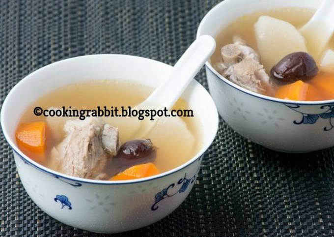 Chinese special soup