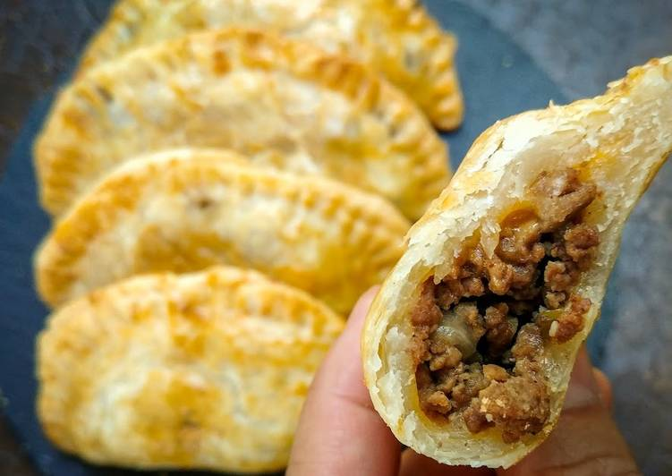 Easiest Way to Cook Yummy Pie Crust Beef Empanadas