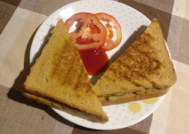 Simple Way to Make Award-winning Homemade masala sandwich