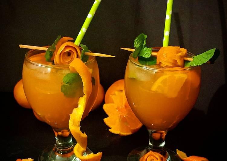 How to Prepare Perfect Orange Iced Tea