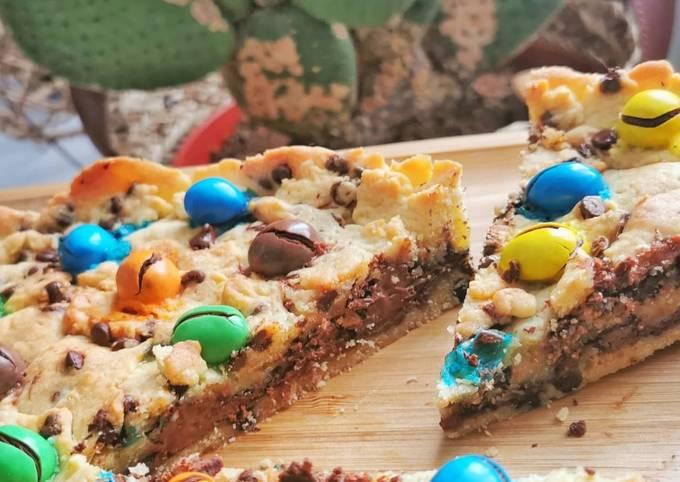 Cookie coeur Nutella, M&M'S