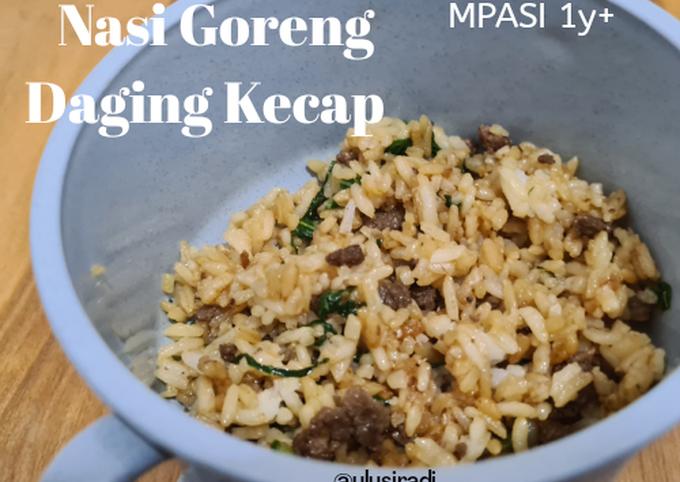 Nasi Goreng Sapi Kecap, mpasi 1y+ - projectfootsteps.org