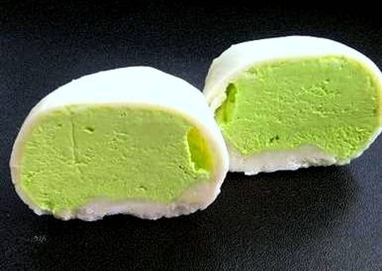 How to Prepare Favorite Mochi Matcha Green Tea Ice Cream
