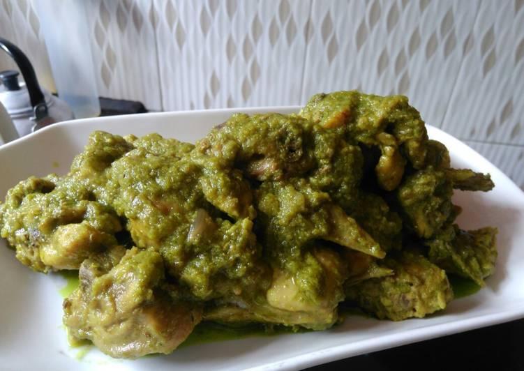Ayam Cabe Ijo (Ayam Lado Mudo)