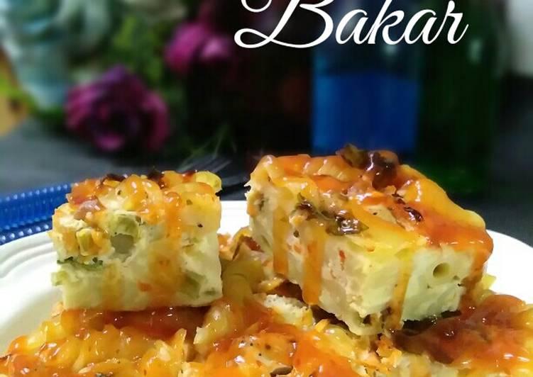 Resepi:  Macaroni Bakar #daporazahzara  Termudah