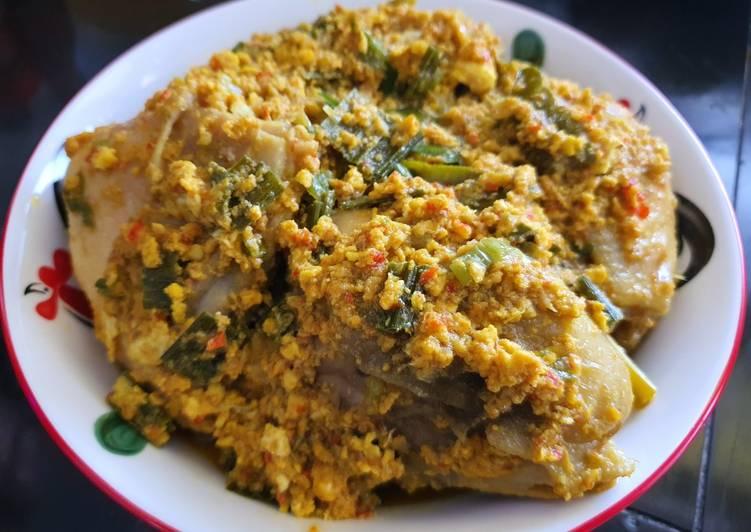 Ayam Tuturaga khas Manado