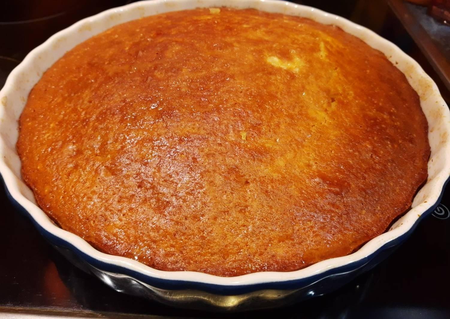 Апельсиновый пирог рецепт простой с фото