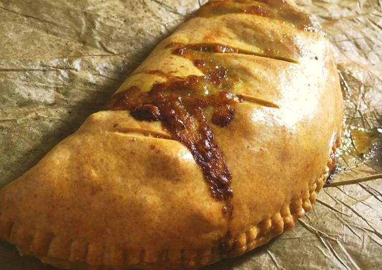 Steps to Prepare Speedy Sourdough beef and cheddar pasties