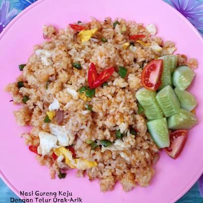 Resep Nasi Goreng Keju Dengan Telur Orak Arik Oleh Homemade By Nindy Cookpad