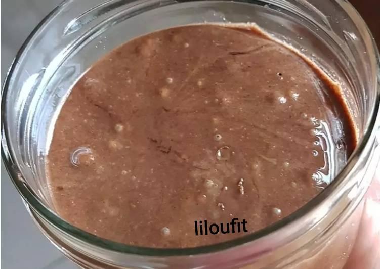La Recette Pas à Pas Pâte à tartiner noisette, amande, cacao