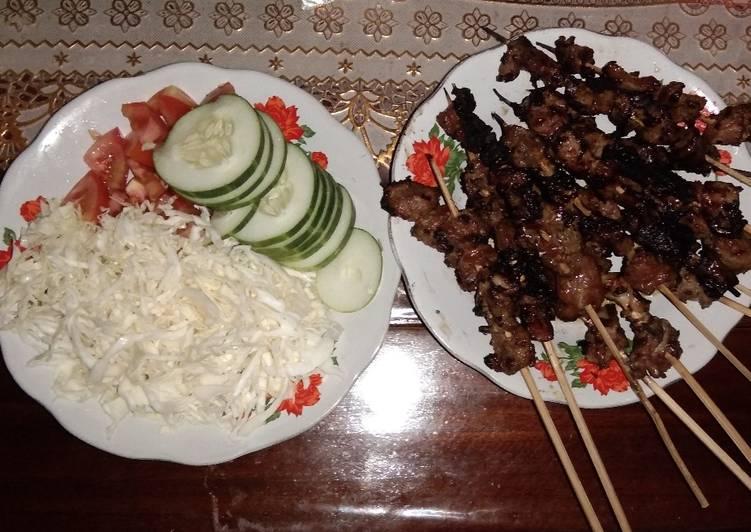 Sate kambing menu wajib idul adha