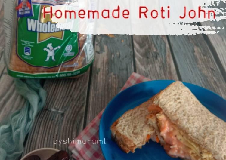 Resepi:  Roti John Wholemeal  2021