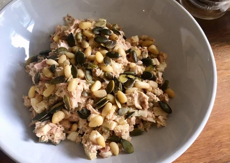 Easiest Way to Prepare Perfect Hidden Surprise Tuna Deli Salad 🥗