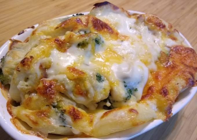 Broccoli & Potato Gratin