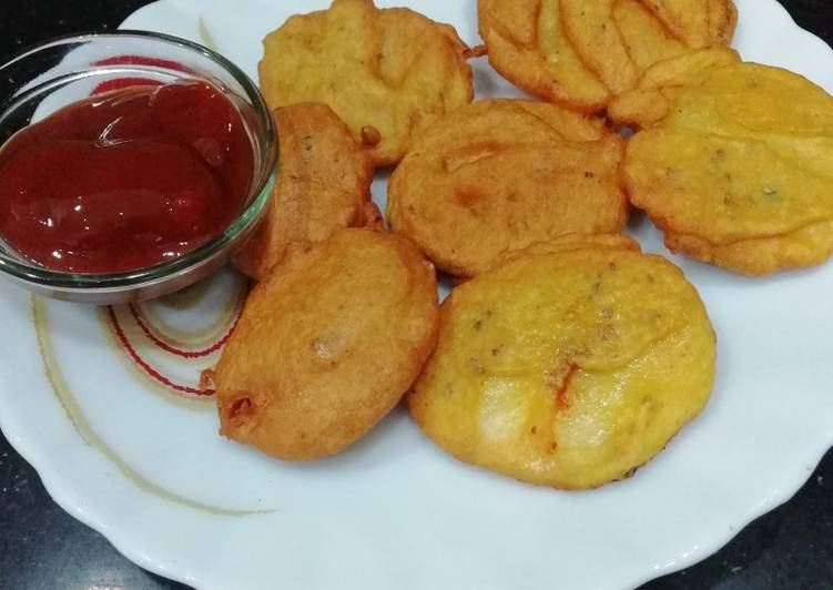 Top 100 Dinner Ideas Super Quick Homemade Potato Pakoda