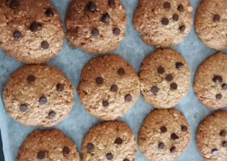 Cookies kelapa&oatmeal#siapramadhan