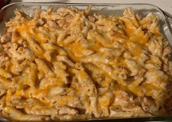 Recipe: Yummy Cajun Alfredo Bake