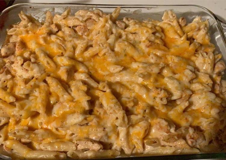 Recipe of Favorite Cajun Alfredo Bake