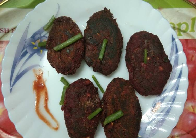 Home Made Beet Root Cutlet