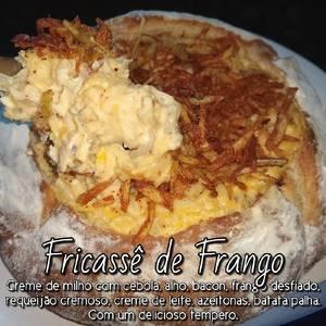 Pan Italiano con relleno de Fricassê de Pollo