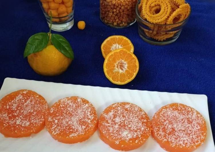 Orange Turkish Delight