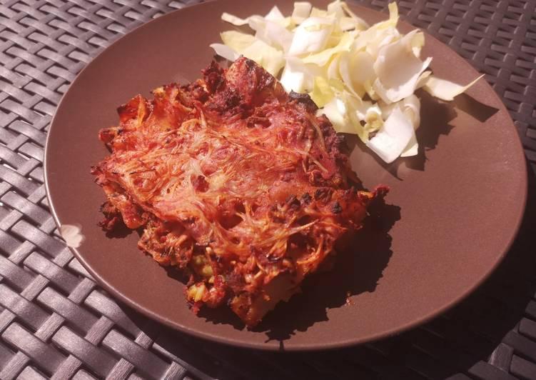Lasagne sans gluten et sans lactose
