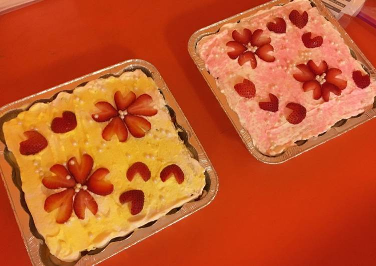 Step-by-Step Guide to Make Speedy Strawberry short cake (non-oil)